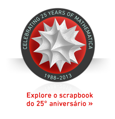 Celebrando 25 anos do Mathematica: 1988-2013