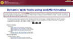 webMathematica Website Wins International Mathematics Award