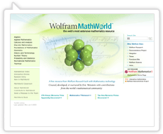 Wolfram MathWorld