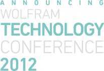 Announcing Wolfram Technology Conference 2012