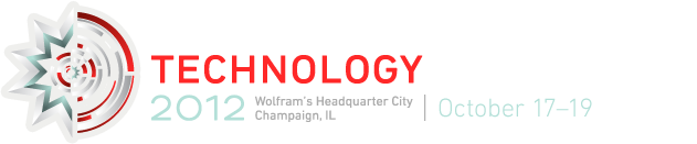 Wolfram Technology Conference 2012 | Wolfram's Headquarter City—Champaign, IL—October 17–19