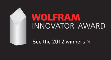 Wolfram Innovator Award—See the 2012 winners