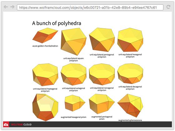 eine polyeder galerie erstellen neu in wolfram language 11. Black Bedroom Furniture Sets. Home Design Ideas
