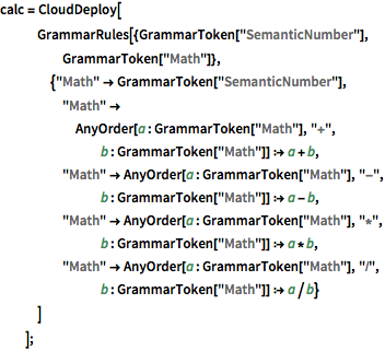 Create a Flexible Calculator Using a Context-Free Grammar