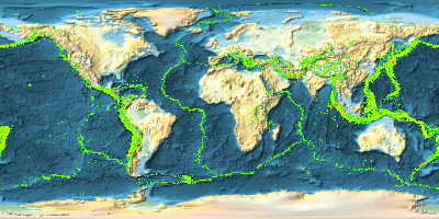 Generate Maps of Earthquake Magnitudes for the Entire World: New in ...