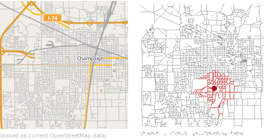 Study Urban Road Networks: New in Mathematica 8