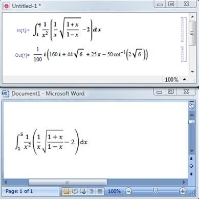 how to insert equation in word 2007