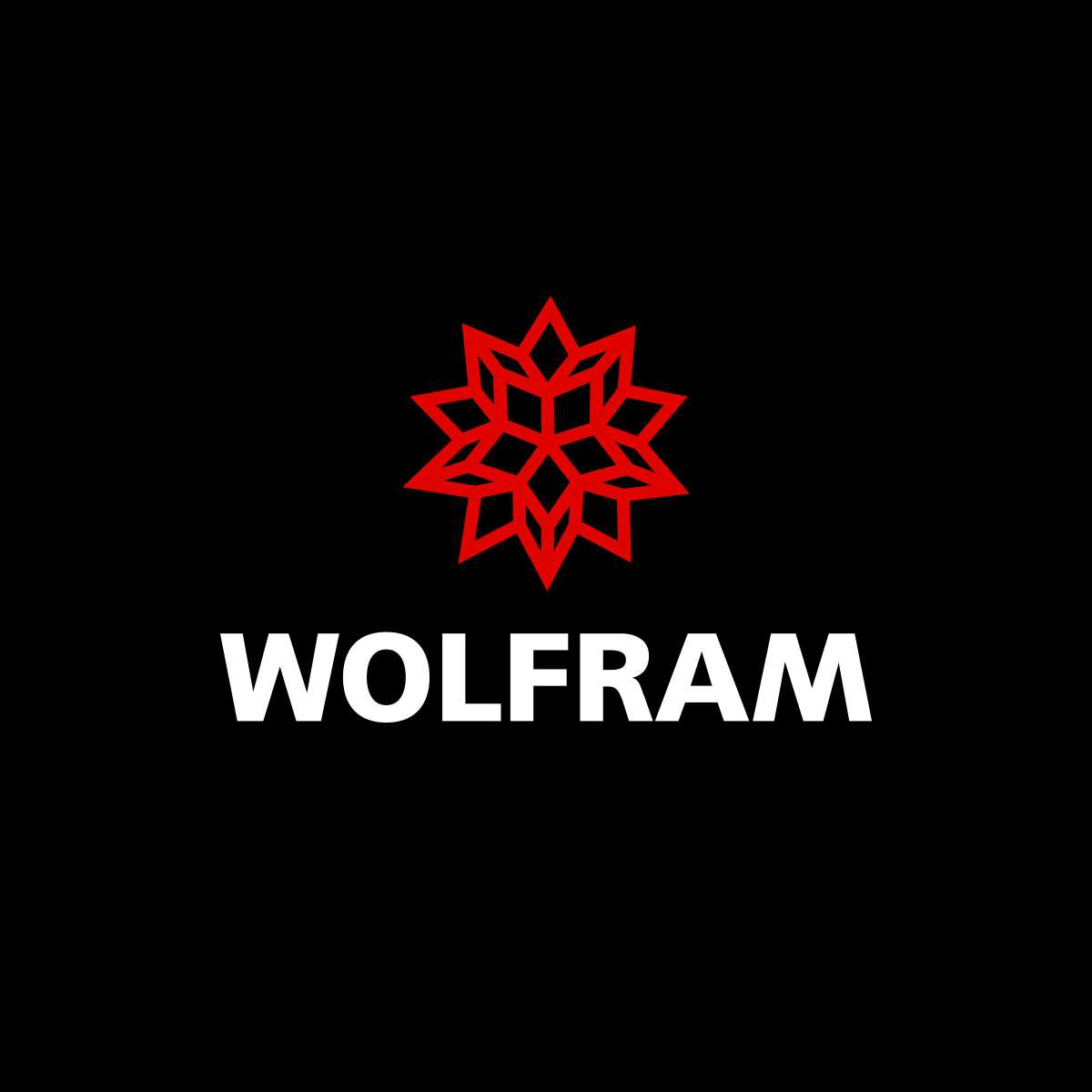 [The logo for Wolfram, makers of Mathematica]